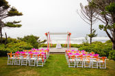 Coastal Wedding Venue — Stock Photo