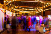 Wedding Reception Dance Floor — Stock Photo