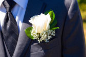 Handsome Groom Wedding Day — Stock Photo