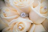 Wedding Rings Closeup — Stock Photo