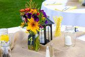 Wedding Centerpiece Details — Stock Photo