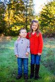 Bruder und schwester zusammen — Stockfoto