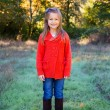 Girl in Red Sweater Portrait — Stock Photo #37449939