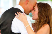 Bride and Groom First Dance Reception — Stock Photo
