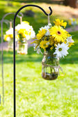 Wedding Day Floral Arrangements — Stock Photo