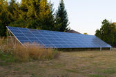 Solar Panels for Electricity Power — Stock Photo