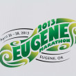 Stock Photo: 2013 Eugene Marathon Logo Eugene, OR