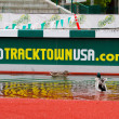 Stock Photo: Ducks at Historic Hayward Field Eugene, OR