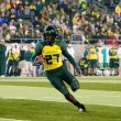 Oregon Ducks Football at Autzen Stadium — Stock Photo