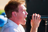 Hawk Nelson Performs at Creation NW 2006 — Fotografia Stock