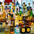 Tequila Bar Alcohol Selection — Stock Photo #42367795