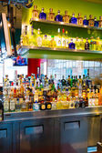 Tequila Bar Alcohol Selection — Stock Photo