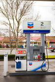 Chevron Gas Pump — Stock Photo