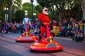 Disney Pixar Parade California Adventure — Stock Photo