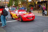 Lightning McQueen in Cars Land — Stock Photo