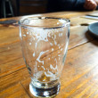 empty beer glass — Stock Photo
