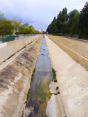California Canal Drought — Stock Photo