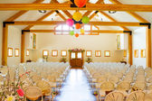 Indoor Wedding Ceremony Venue Location — Stock Photo