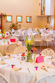 Wedding Reception Location — Stock Photo