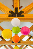 Chinese Paper Lanterns Wedding Decor — Zdjęcie stockowe