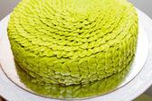 Green Wedding Cake — Stock Photo