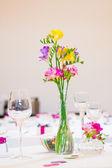 Wedding Flowers Decor — Stock Photo