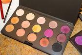 Eyeliner Makeup Colors — Zdjęcie stockowe