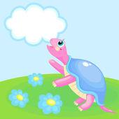 Schildkröte — Stockvektor