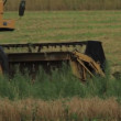 Combine Harvester — Stock Video