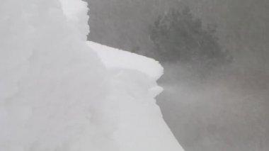 Snow Bank — Stock Video