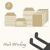 Hard Working — Stock Photo