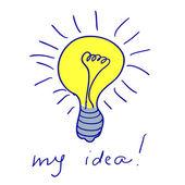 Doodle my idea — Stockvector