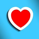 Heart for Valentine's Day — Wektor stockowy