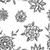 Floral seamlrss pattern. — Stock Vector
