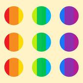 Rainbow vector background. — Stock Vector