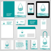 Corporate identity template. — Stockvector
