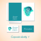 Stationery template design. Documentation for business. — Stockvector