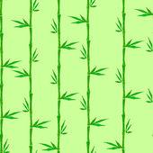 Bambus bezešvé pozadí — Stock vektor