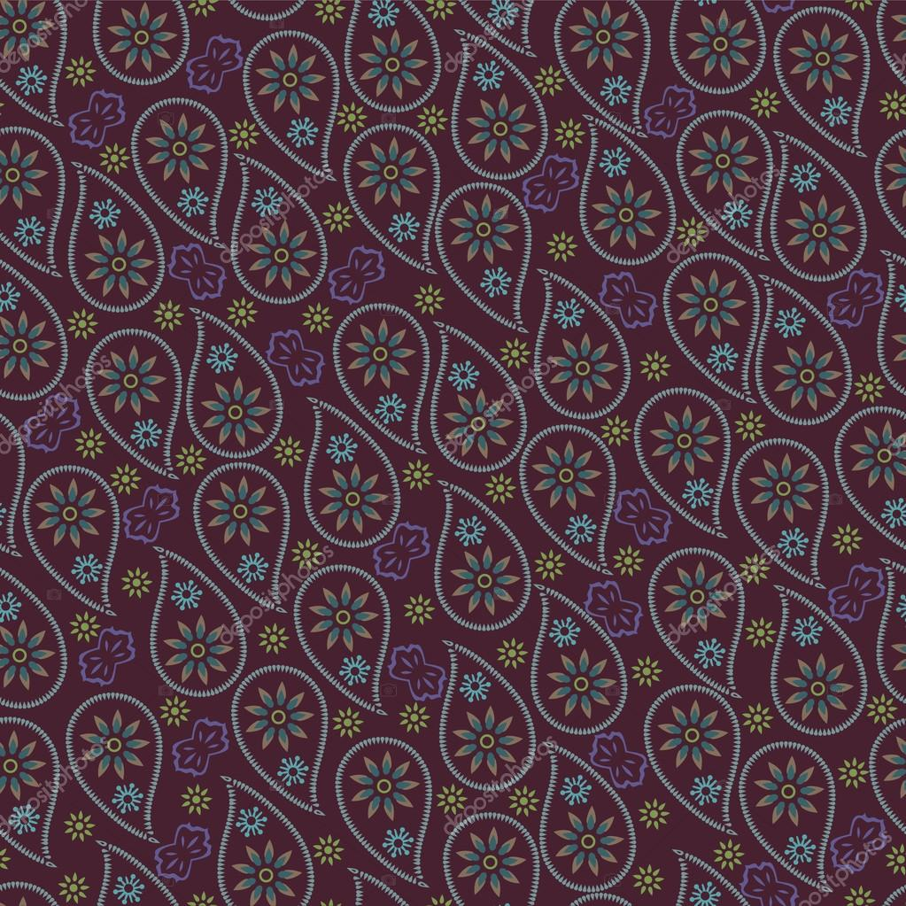 Turkish Design Wallpaper : Mens design paisley fabric seamless pattern oriental