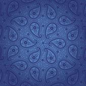 Vintage lace Paisley ornament.Oriental background — Stock Vector