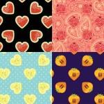 Set of Fruit seamless pattern. — Stock Photo #49356355