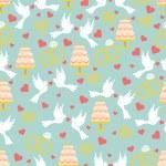 Wedding seamless pattern set — Stock Photo #49624185