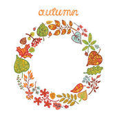 Decorative autumn leaves — Stock Photo