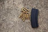 Rifle ammunition — Stock Photo
