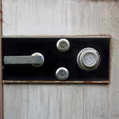 The security safe to keep your importance stuffs of belonging — Stock Photo