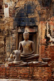 Buddha image, Attitude of the Buddha, The attitude of meditation — Foto Stock