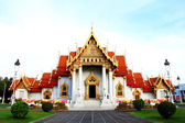 Beautiful Thai Temple Wat Benjamaborphit, temple in Bangkok — Stockfoto