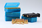 Box of ammunition — Stock Photo