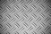 Diamond steel plate useful as a background — Stock Photo