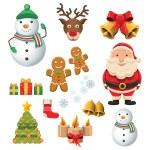 Christmas set — Stock Vector #36756893